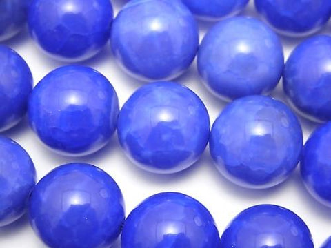 Blue Fire Agate Round 14mm half or 1strand (aprx.15inch / 36cm)