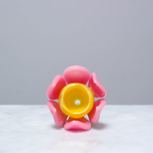 Lotus Flower Bowl by Empire Glassworks