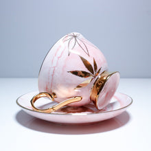 Pink High Tea Cup & Saucer by Fashionably High