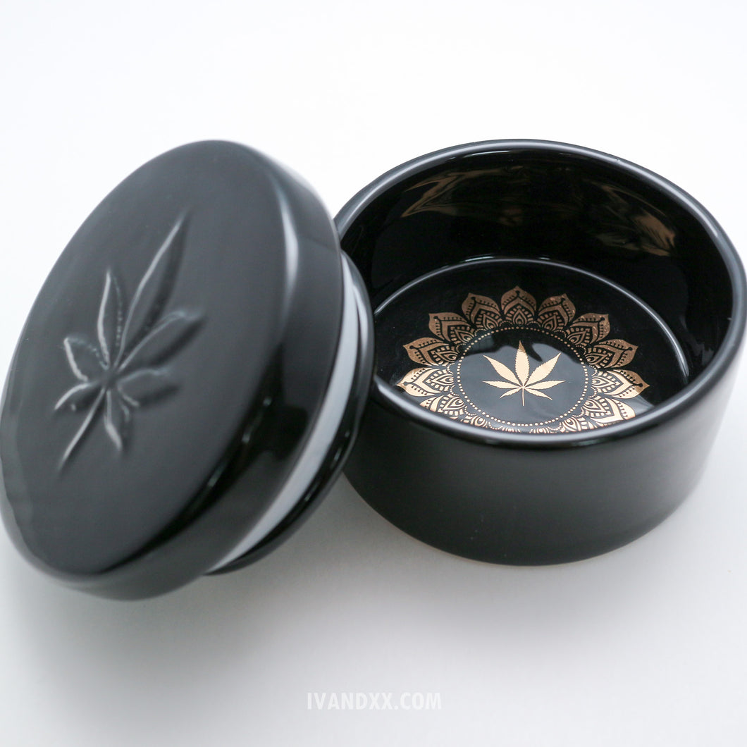Black Blunt Opulence Stash Box - Limited Edition by Fashionably High