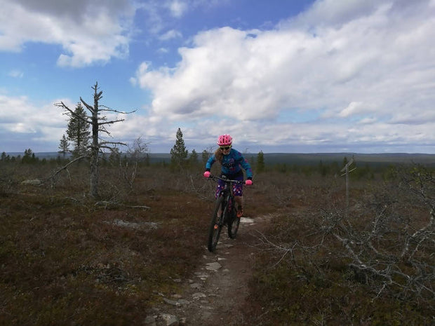 Mountainbike tour to Urho Kekkonen National Park