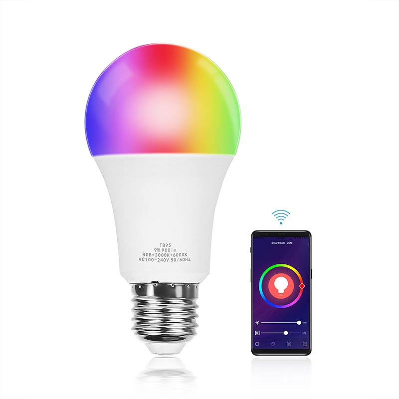 WiFi Smart RGB Vollfarbbirne