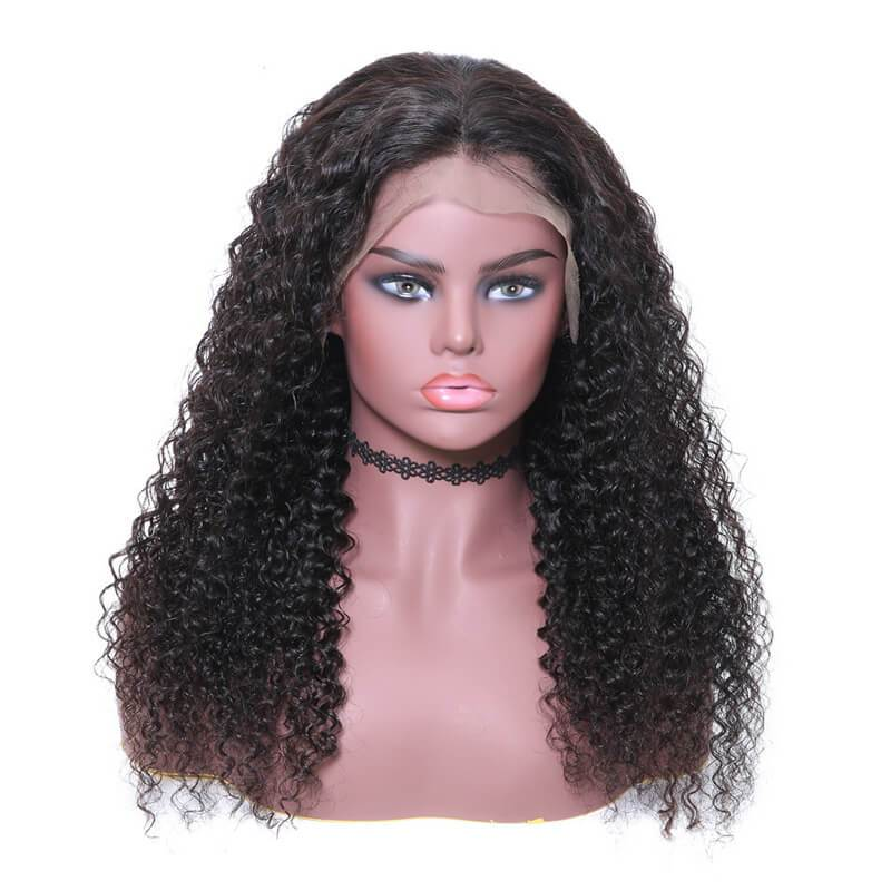 Curly lace front wigs-4