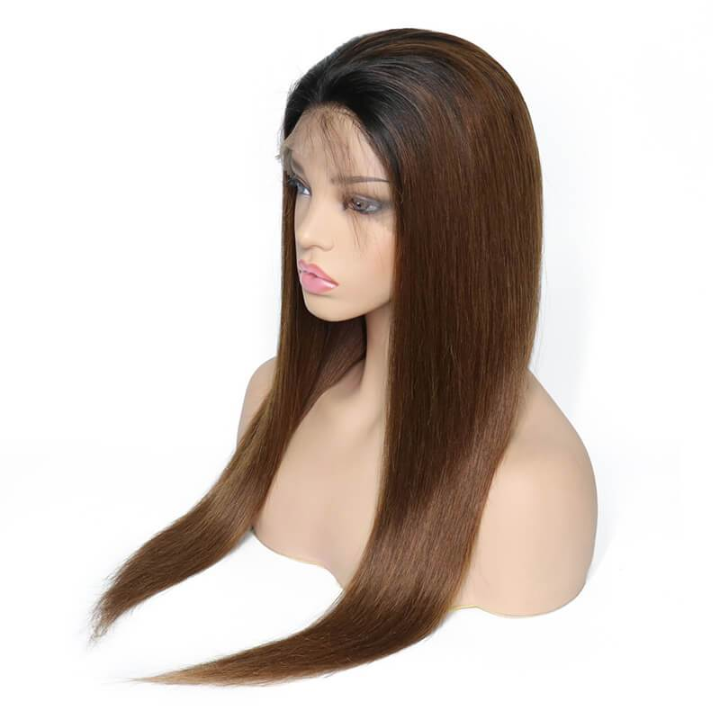 Colored human hair wigs-3