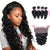 8A 4 Bundles Loose Wave Brazilian Virgin Human Hair With 360 Lace Frontal Closure Larwehair