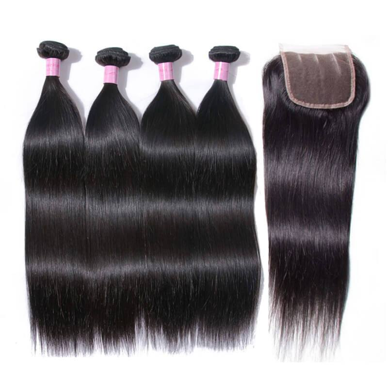 Bundles with closure-3