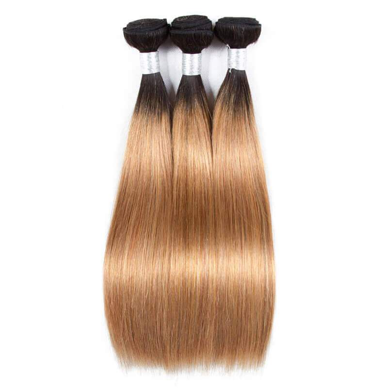 Ombre straight hair-5