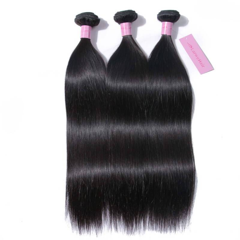 Straight weave with closure-2