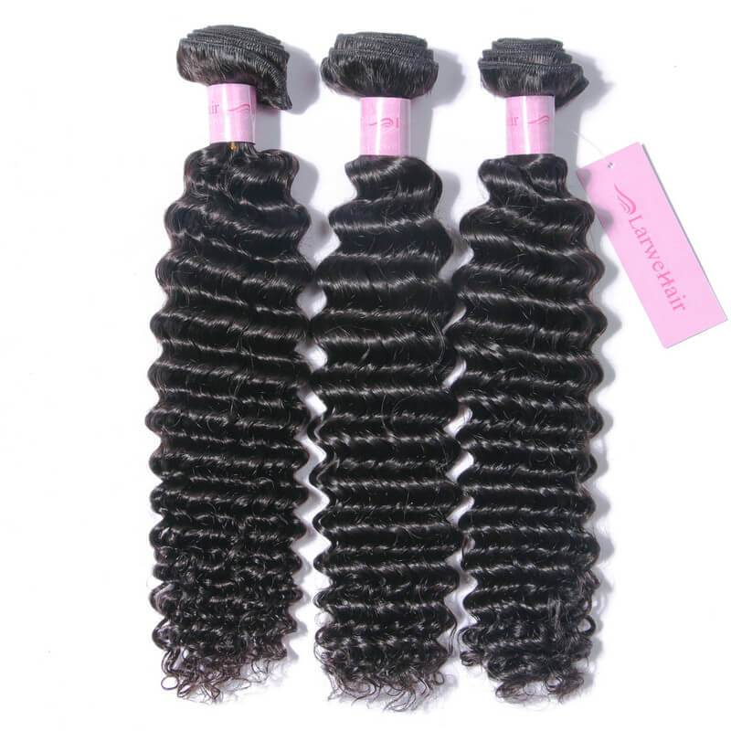 Virgin remy hair bundles-2