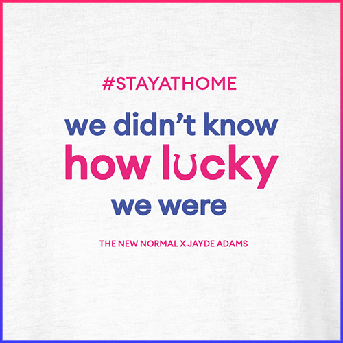 #stayathome Jayde Adams T-Shirt