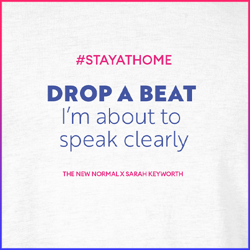 #stayathome Sarah Keyworth T-Shirt