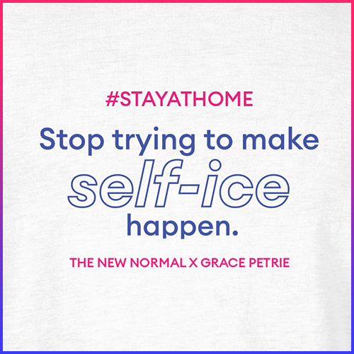 #stayathome Grace Petrie T-Shirt