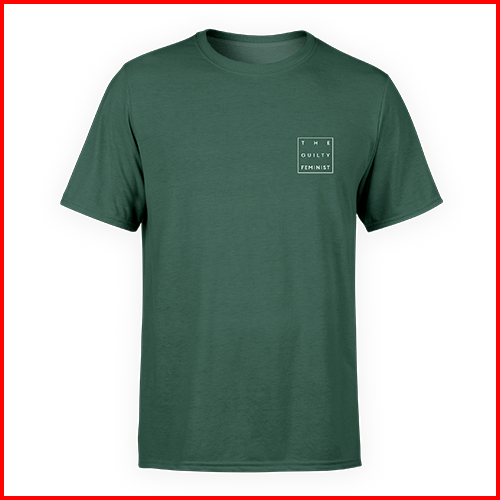 The Guilty Feminist Logo - Green Unisex T-Shirt