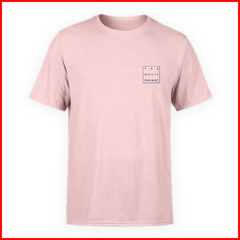 The Guilty Feminist Logo - Pink Unisex T-Shirt