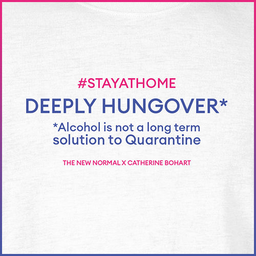 #stayathome Catherine Bohart T-Shirt