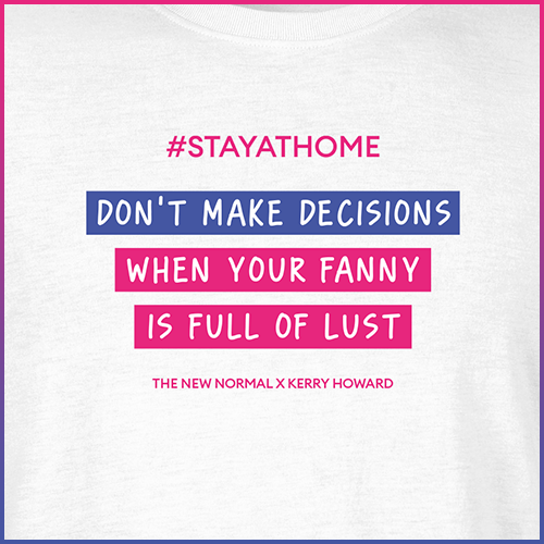 #stayathome Kerry Howard T-Shirt