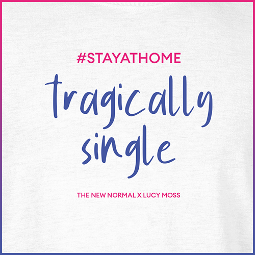 #stayathome Lucy Moss T-Shirt