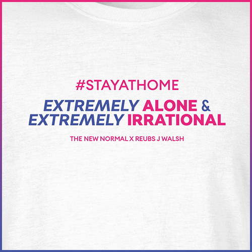 #stayathome Reubs J Walsh T-Shirt