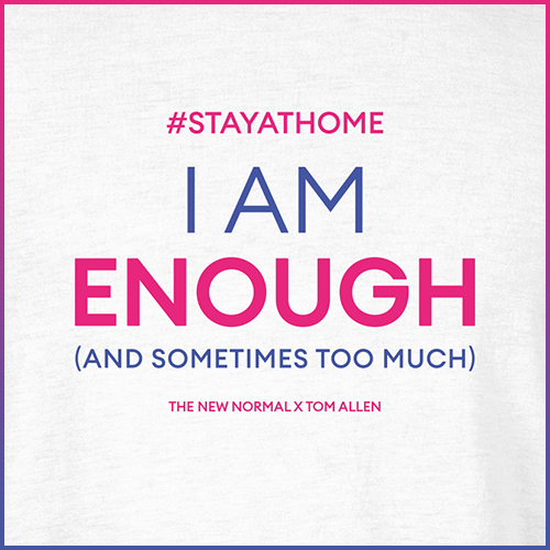 #stayathome Tom Allen T-Shirt