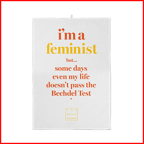 Guilty Feminist Tea Towel