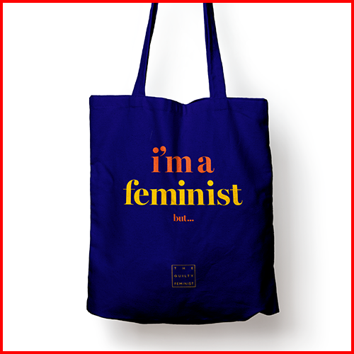 i'm a feminist but... Tote bag
