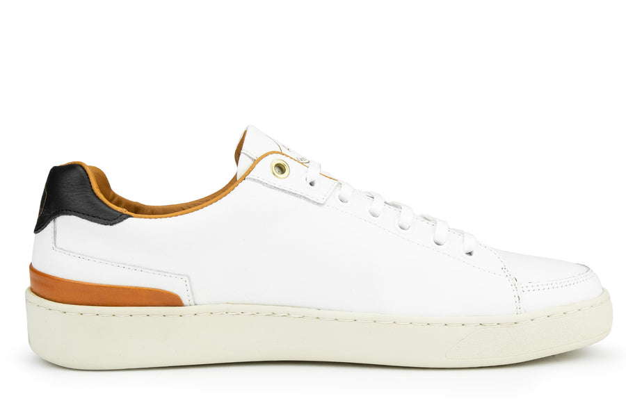 Cassetta Vitello Leather - White