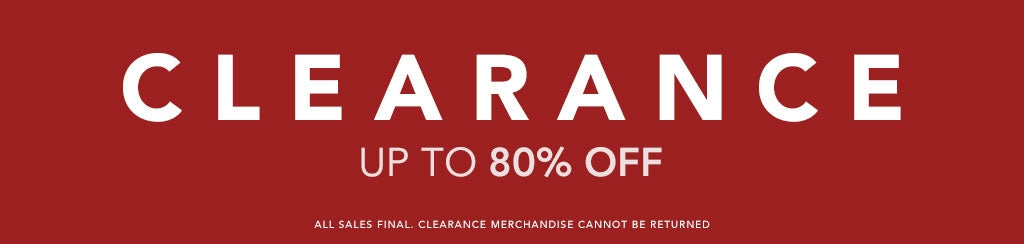 Cearance - up to 80% off