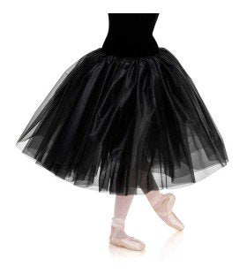 165E - B490L Romantic Stiff Tricot Skirt - Curtain Call Costumes Australia