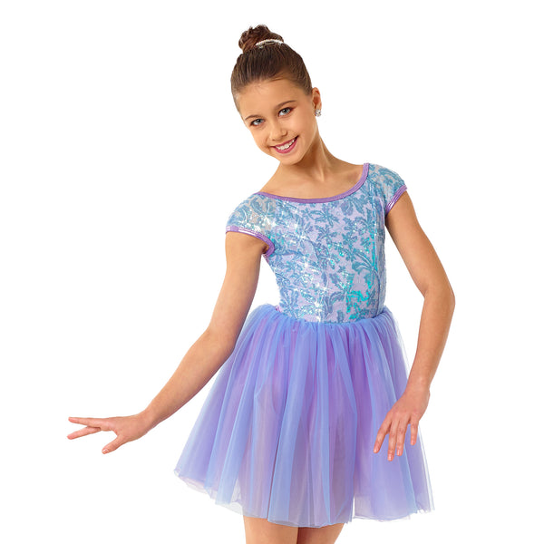 155 - E2239 Orchid Breeze - Curtain Call Costumes Australia