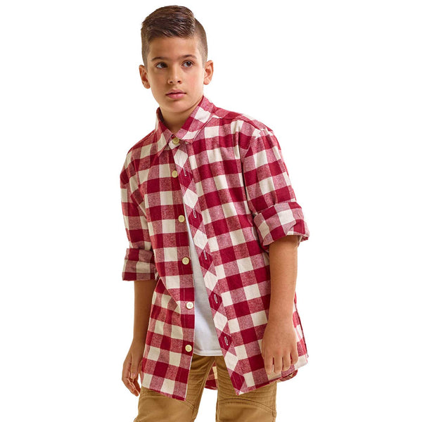 N022A - N127 Flannel Button Down