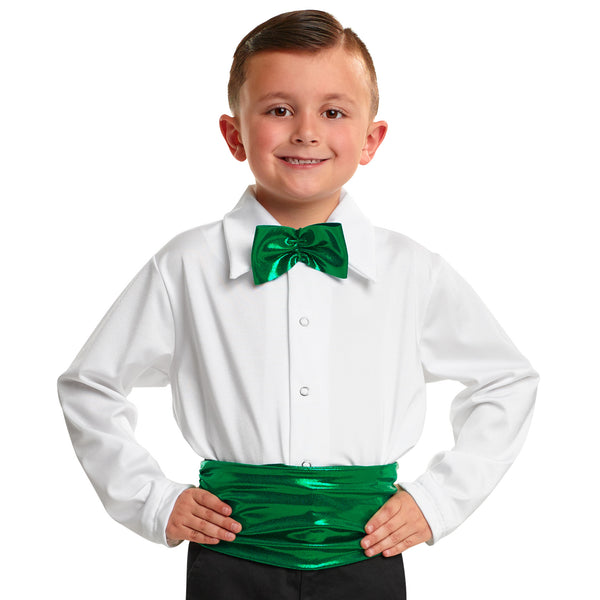 359 - B074  Cummerbund and Bow Tie
