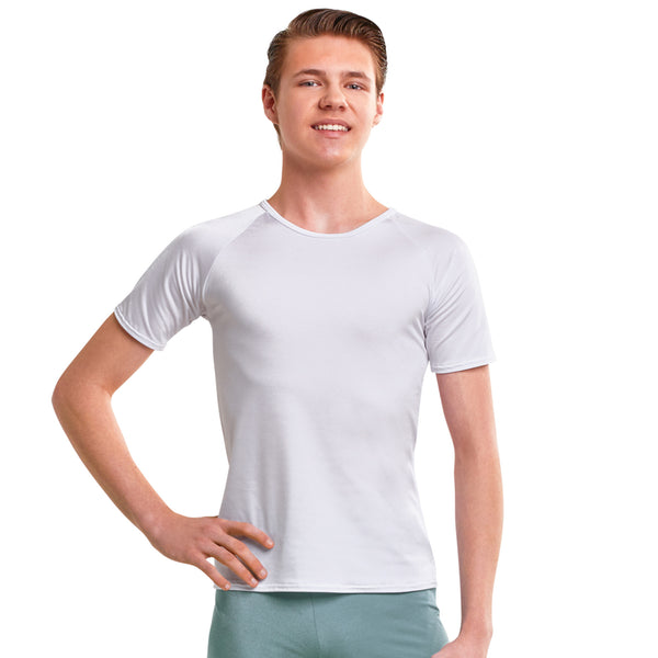 364A - B3672L Guys' Scoop Neck Shirt (Nylon/Spandex)