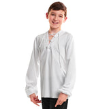 365B - C3201 Guys' Lace Up Shirt