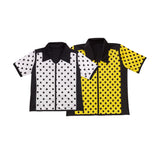 367B - E1800L Guy's Dotted Bowling Shirt