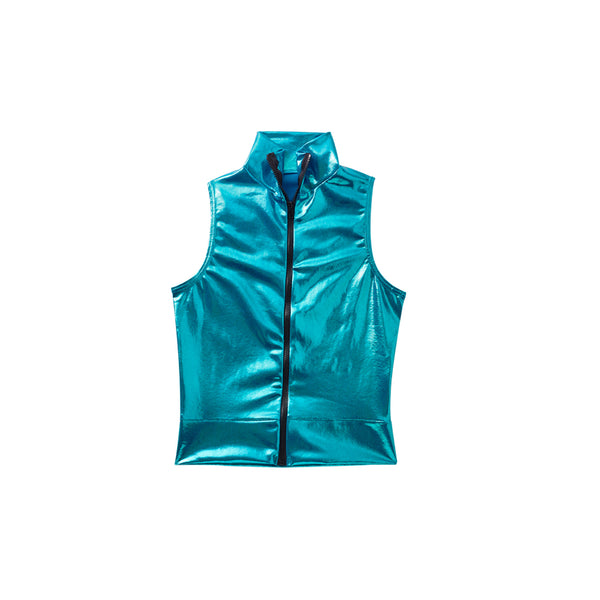 361 - B4717M  Guys' Zipper Front Top (Mystique)