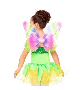 999 - W1529 Double Layer Rainbow Wings
