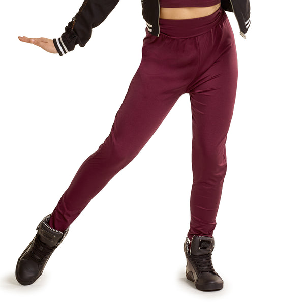 P065E - J4991 Fold Down Waist Hip Hop Pants