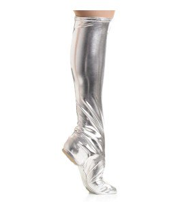 343A - B8894S Silver Boot Spats