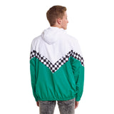 363 - N211  Zip Up Panel Windbreaker