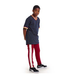 N027B - N193 Wide Stripe Track Pants