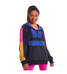 N007A - N180 Neon Panel Windbreaker