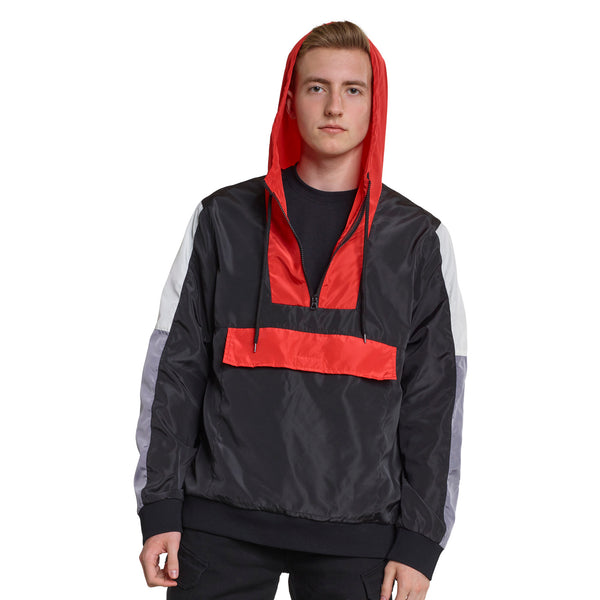 362 - N180  Color Block Windbreaker