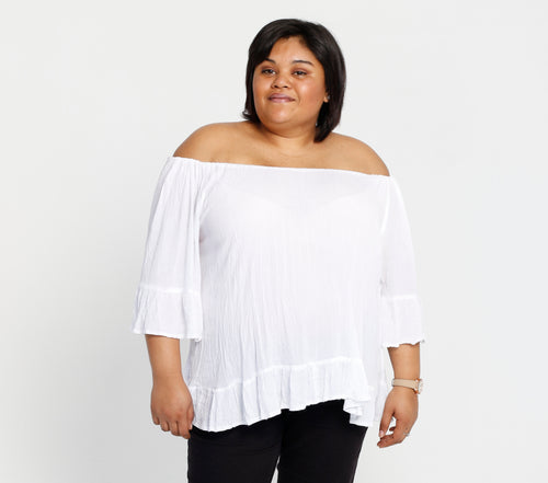 Off the shoulder top - Size 16/40