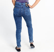 Load image into Gallery viewer, Navy blue skinny jeans - Size 6