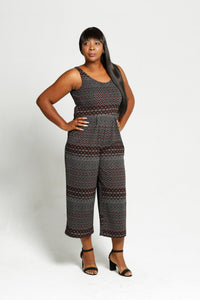 Printed, Long Pant, Jumper - Size: 12