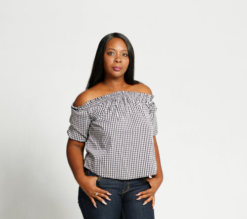 Off the shoulder top - Size 12