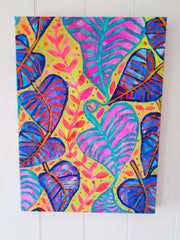 """Tropical Daydream"" Wall Art - Original Canvas 2 of 3 - lordydordie"