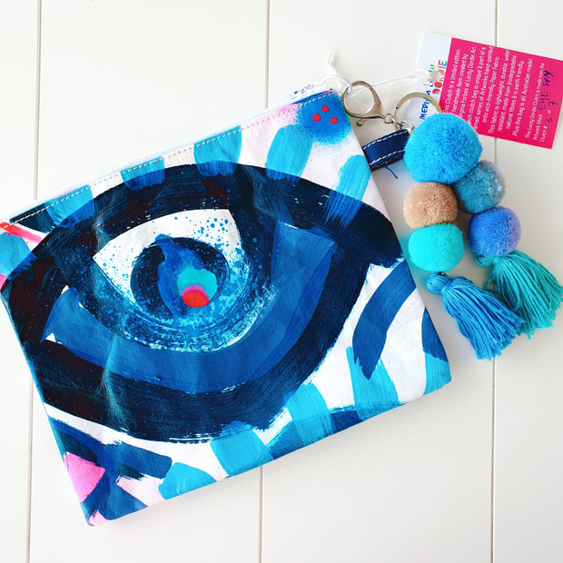 Medium EYE SPY Art Clutch - #3 of 7 - lordydordie