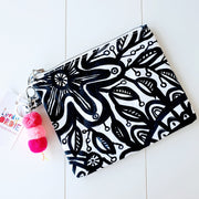 Large GARDENIA Art Clutch - #7 of 8 - lordydordie