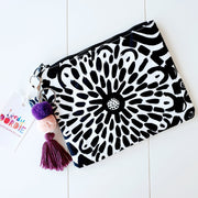Medium GARDENIA Art Clutch - #1 of 8 - lordydordie